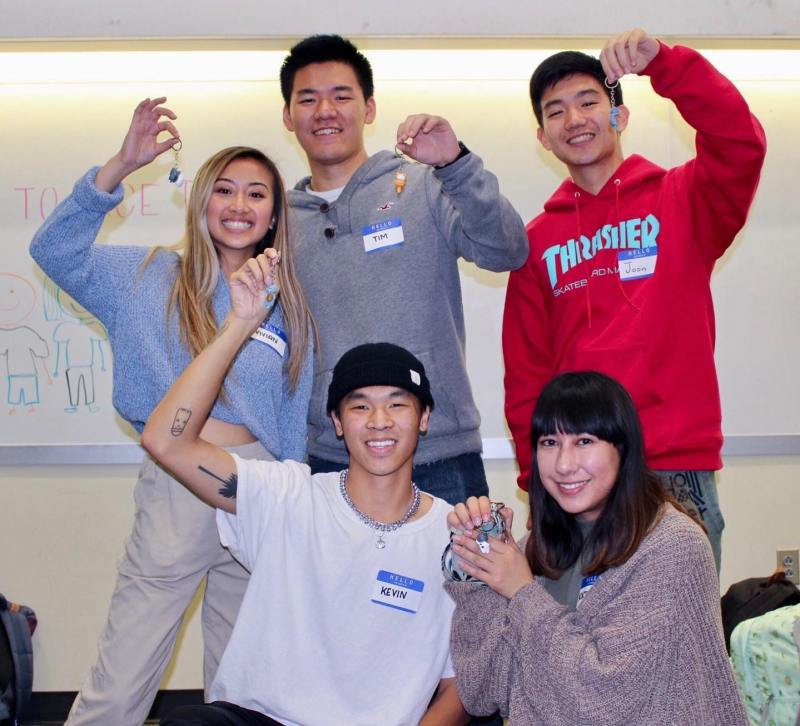 Group picture of VSA members in their Anh Chi Em program