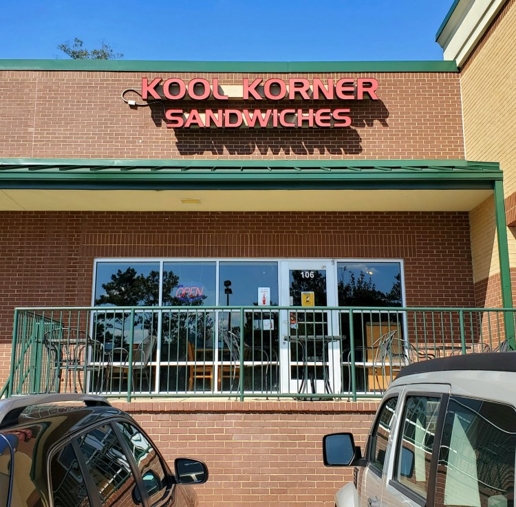 Storefront of Kool Korner Sandwiches