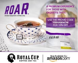 Royal Cup ROAR Tea