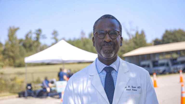 Dr. Raegan Durant of Cooper Green Mercy Health Services