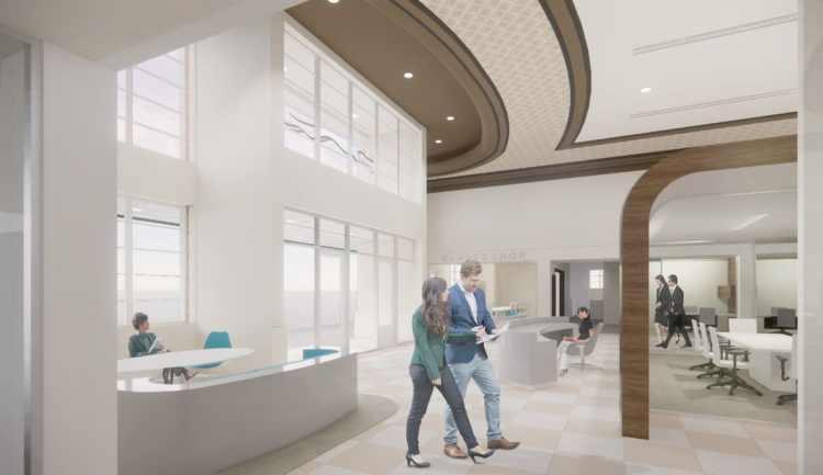 Greyhound lobby of the future