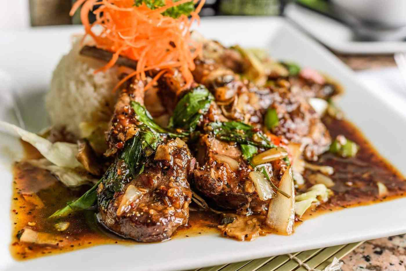 Bet you didn't know you could get Indonesian food at Nori Thai and Sushi