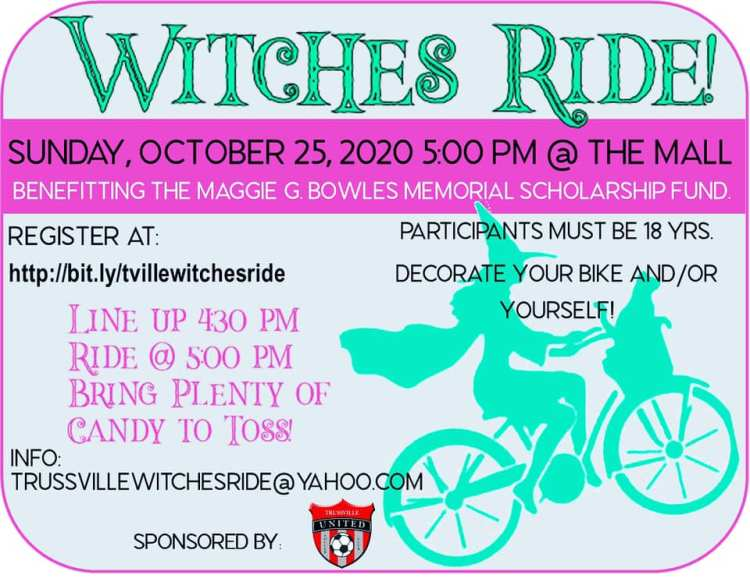 Trussvile Witches Ride