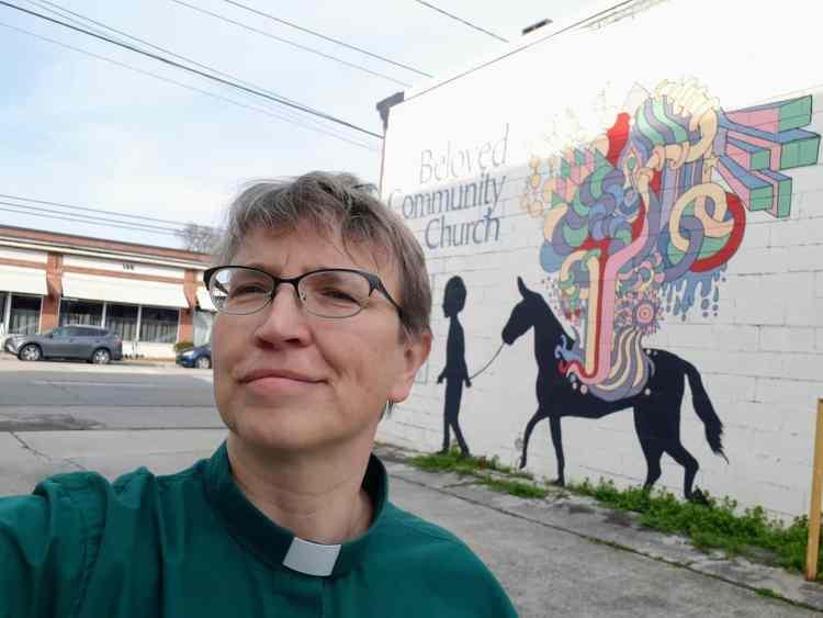 Rev. Jennifer Sanders is one of the clergywomen in Birmingham