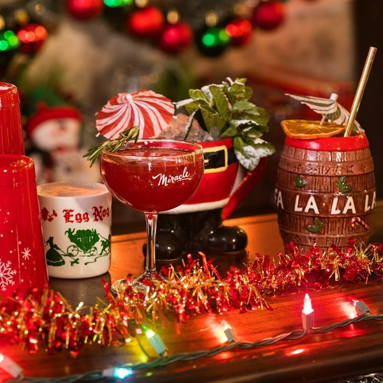 Miracle on 24th Street drinks