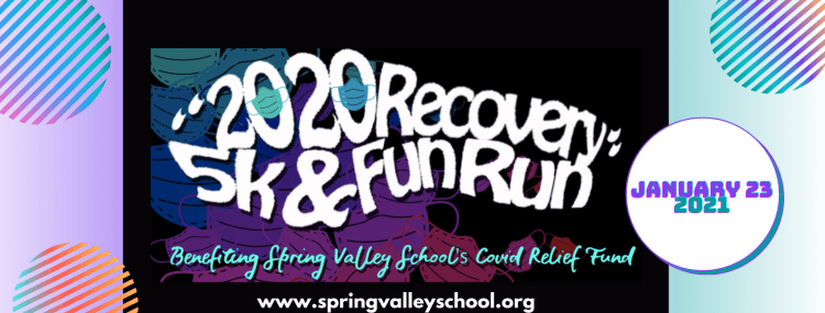 Spring Valley School's virtual 5K benefiting their COVID relief fund