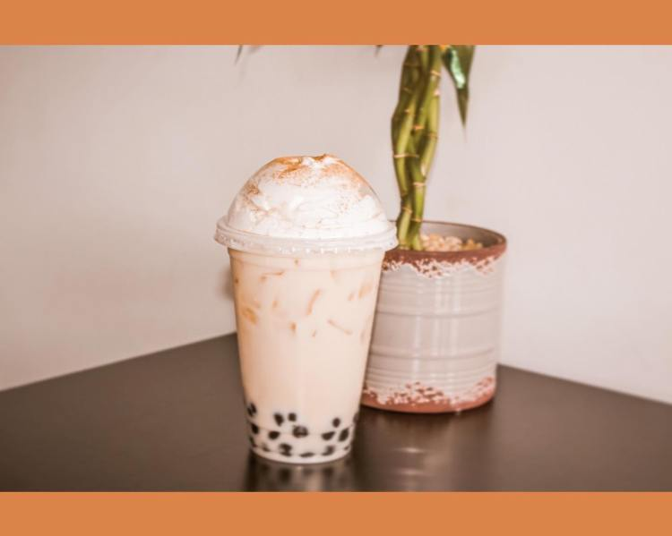 Bubble tea from Thirstea Cafe