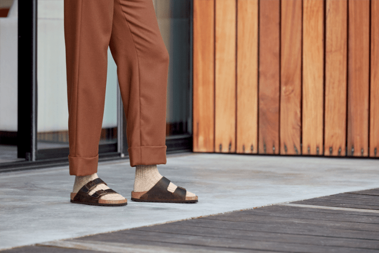 Birkenstock sandals from Mountain High Outfitters.