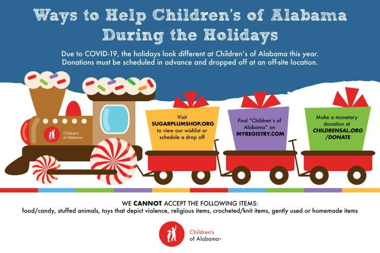 how you can help Children's of Alabama