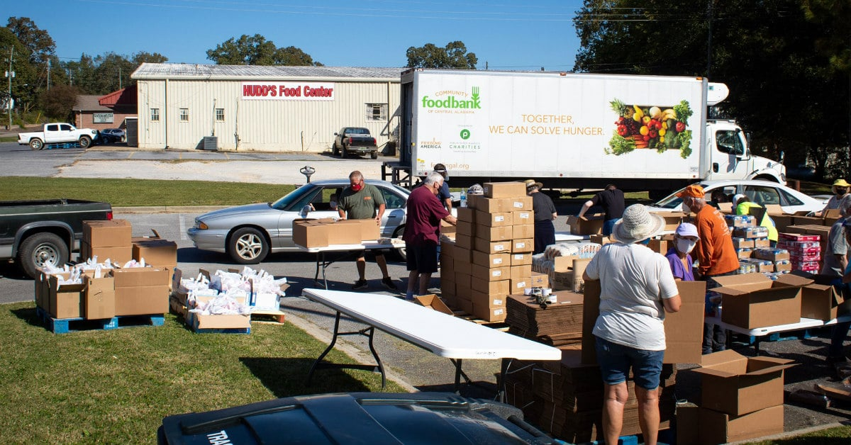 More neighbors are looking at a long + hungry winter—7 ways you can help food banks in Birmingham