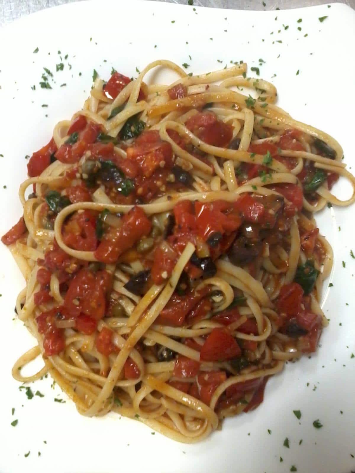 Bongiorno Italian Restaurant, spaghetti