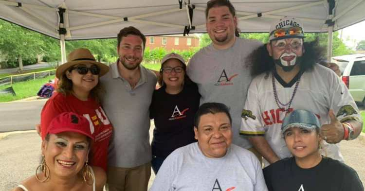 Members of the Alabama Latino AIDS Coalition