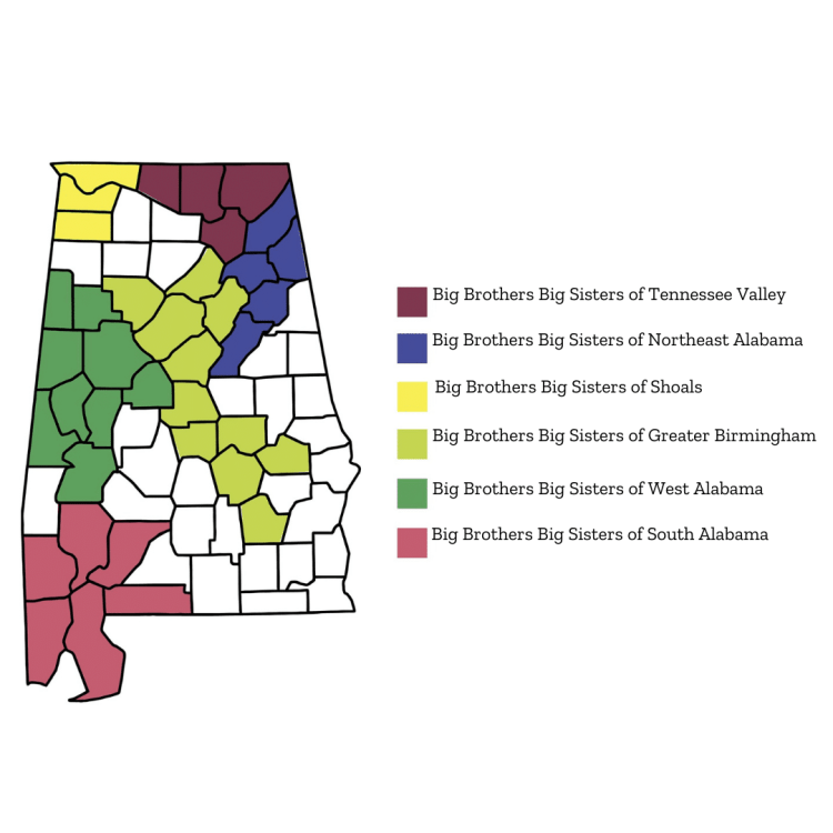 BBBS map