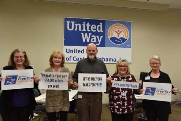 free tax assistance at UWCA