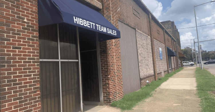 Former Hibbett Team Sales Building - new office development