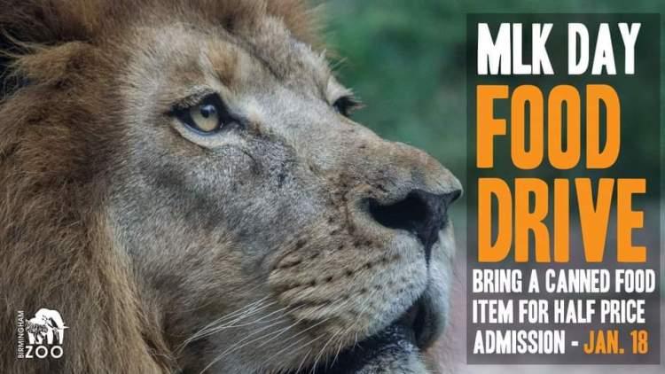 zoo food drive