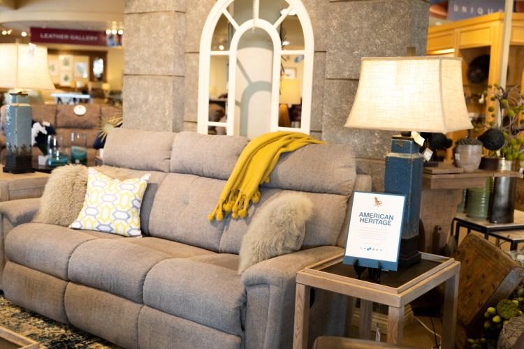 La-Z-Boy furniture - spring decor tips