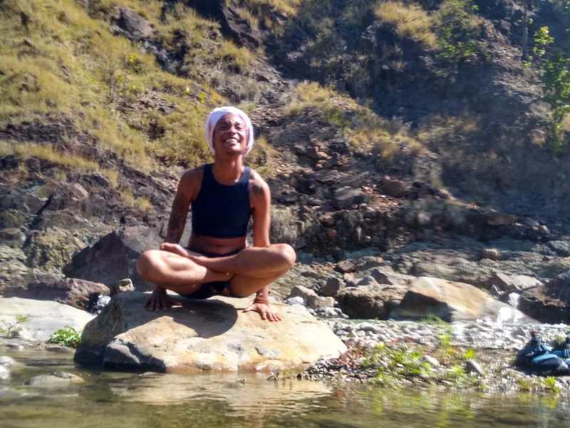 Adi Devta Kaur, yoga teacher