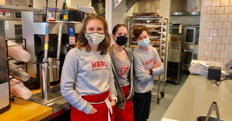 Hero Doughnuts staff - Best Doughnuts in Alabama winner
