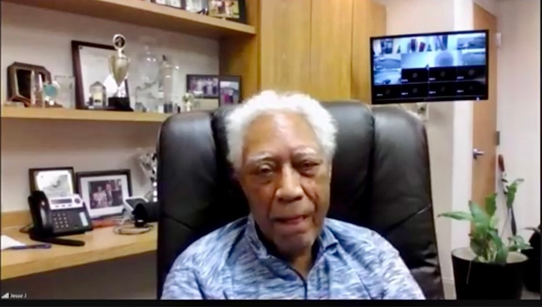 History and helping with Birmingham icon, Dr. Jesse J. Lewis, Sr.