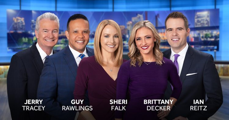 WVTM 13 evening news team