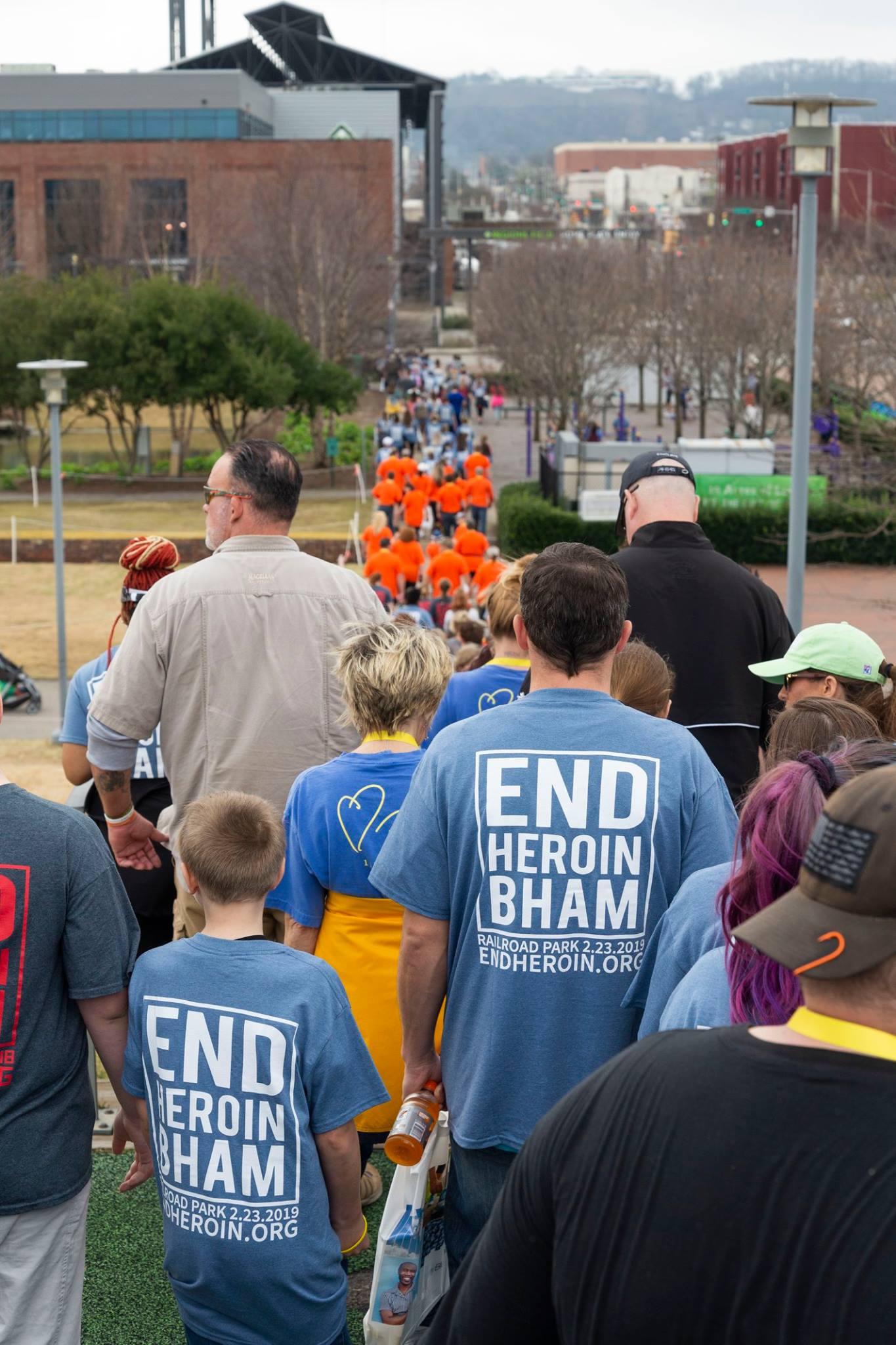 Addiction Prevention Coalition, End Heroin Walk Bham