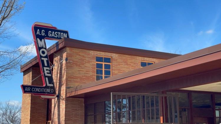 A.G. Gaston Sign
