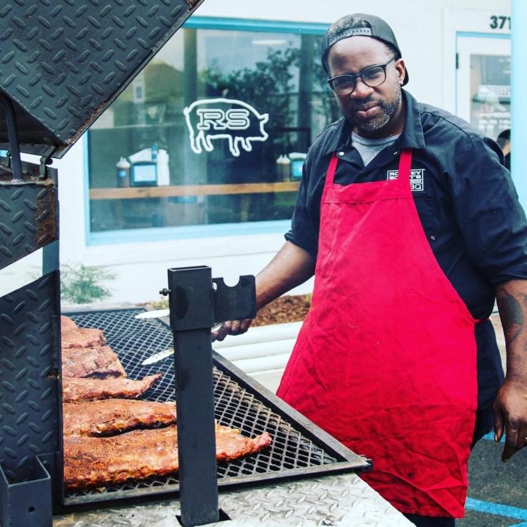 Rodney Scott's BBQ, Roscoe Hall