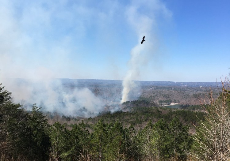 Oak Mountain State Park Fire