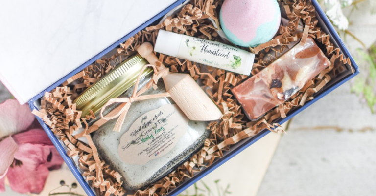 floral gift box from SGHomesteadCo