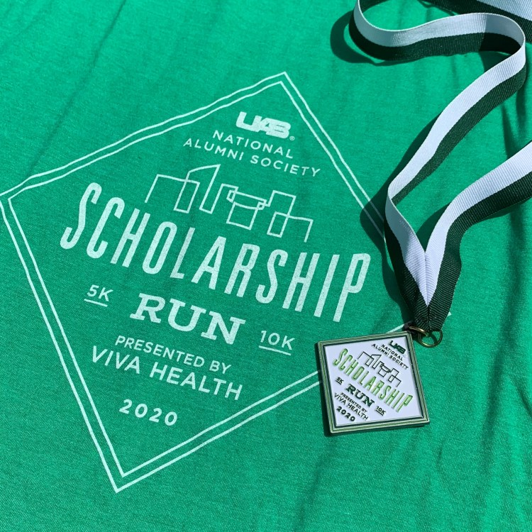 UAB scholarship run birmingham race