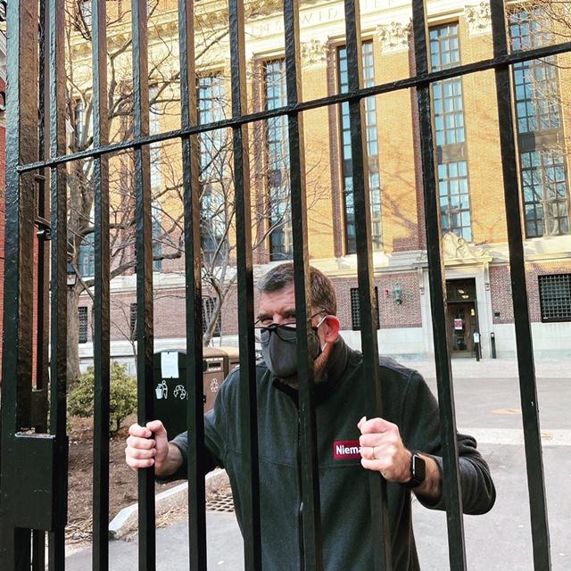 John Archibald at Harvard
