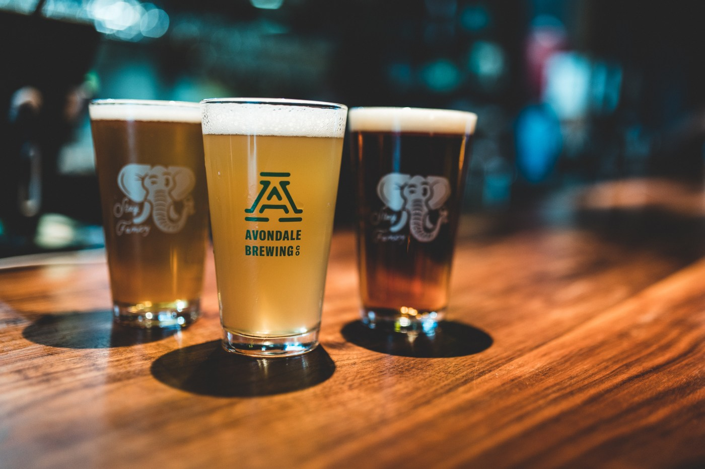 Beers from Avondale Brewing Co