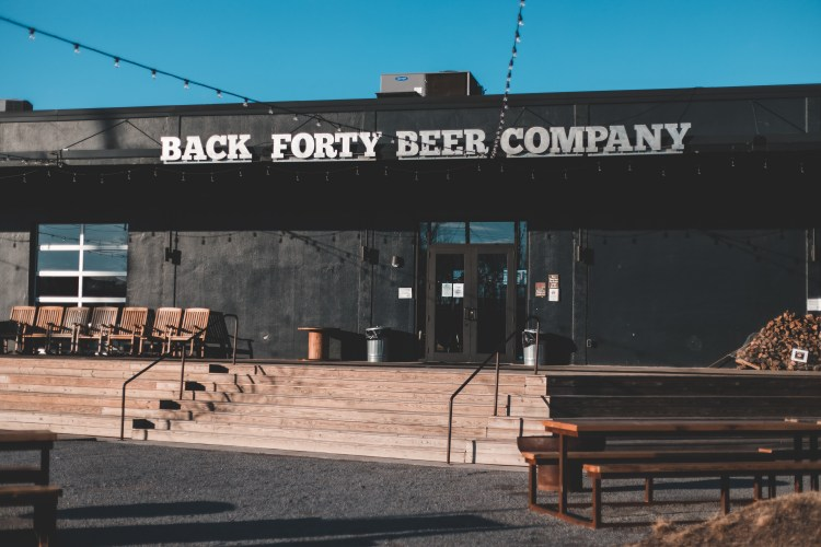 Back Forty beer company