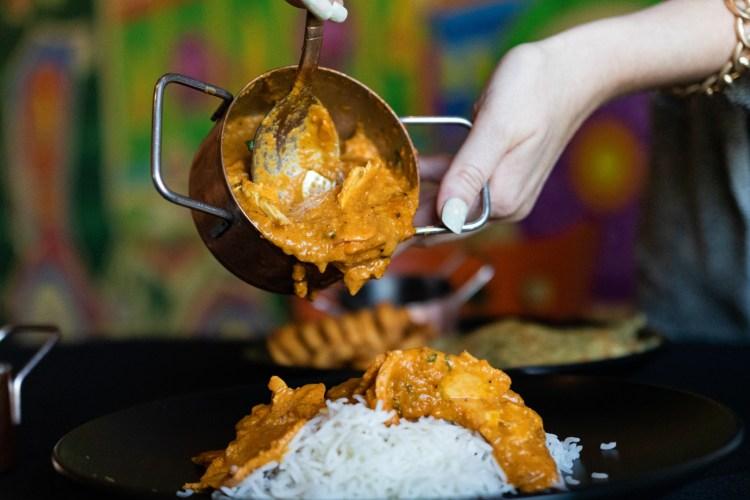 Bay Leaf 280 kids' menu butter chicken