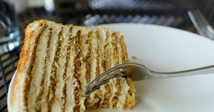 Bottega burnt honey cake