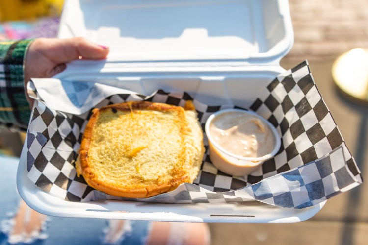 Jack Brown's grilled cheese