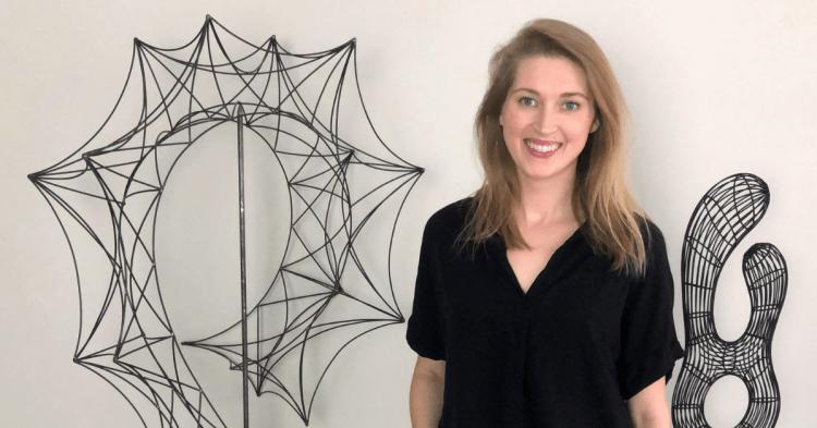 Emily Meisler metal sculptures