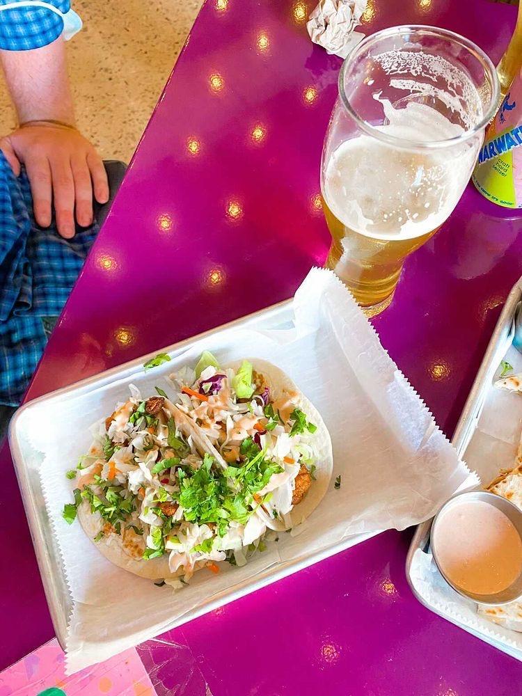 Cauliflower tacos from Monday Night Social - hilbitesbham