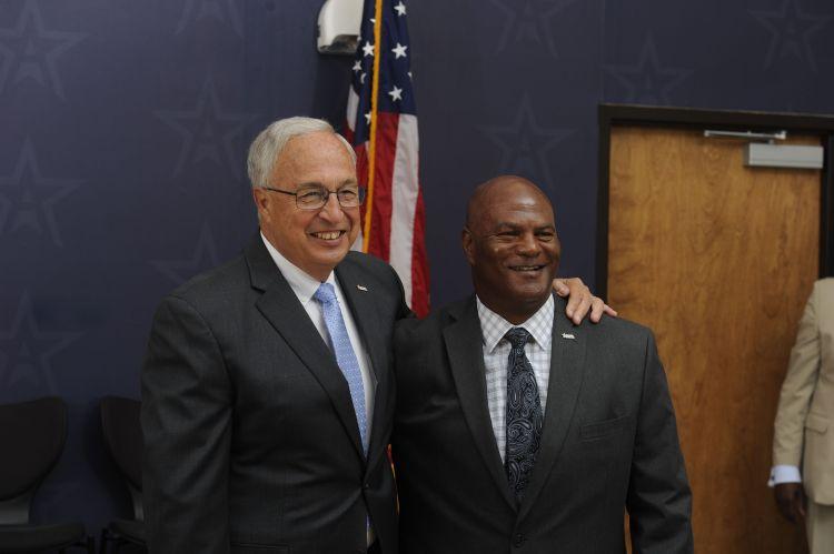 Steve Savarese and Alvin Briggs