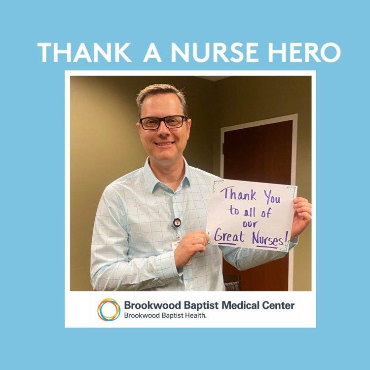 Nurse Hero at Brookwood Baptist