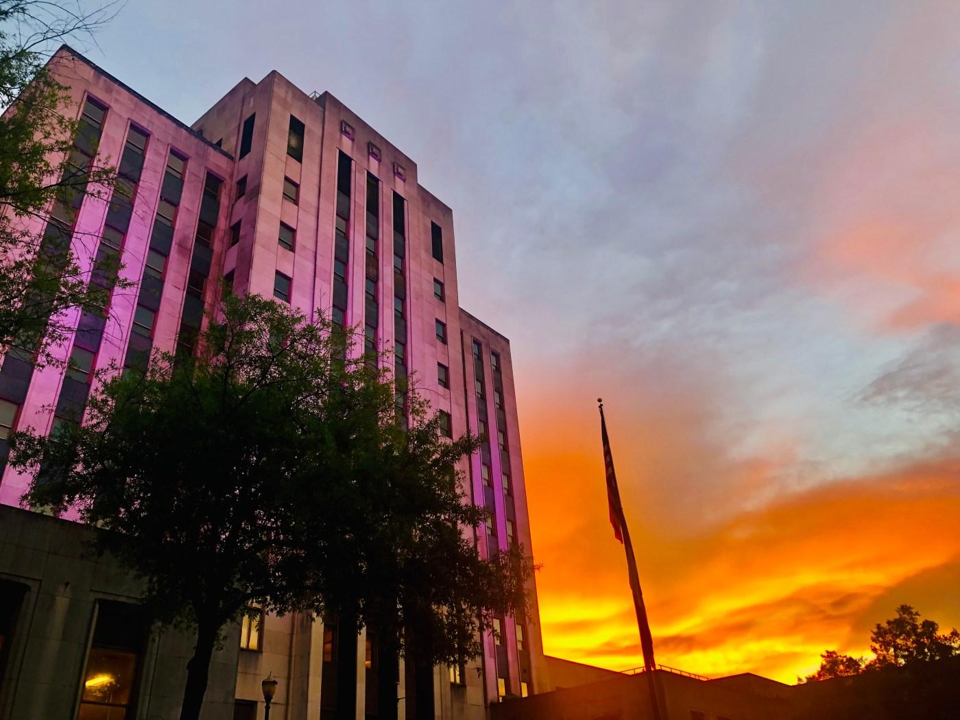 Birmingham City Hall at Sunset 2021
