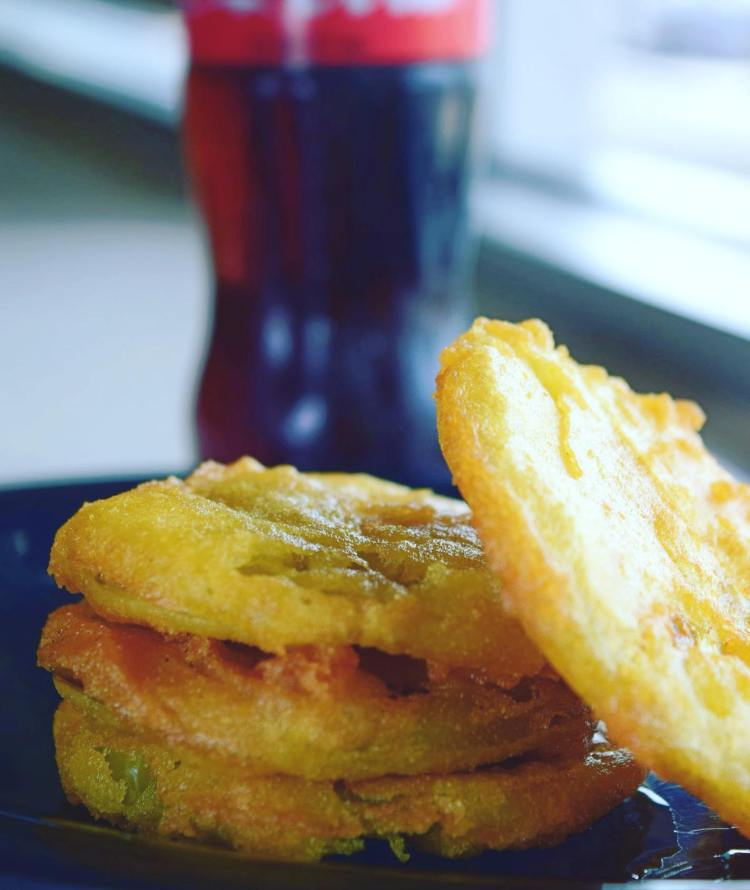 Irondale fried green tomatoes