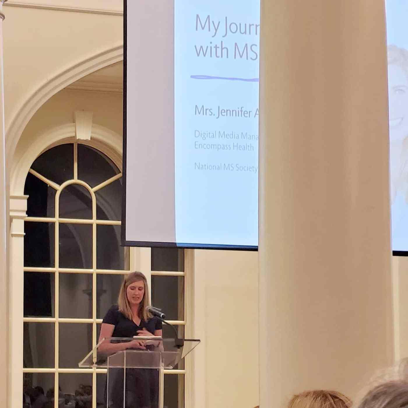 Jennifer Adams, National MS Society