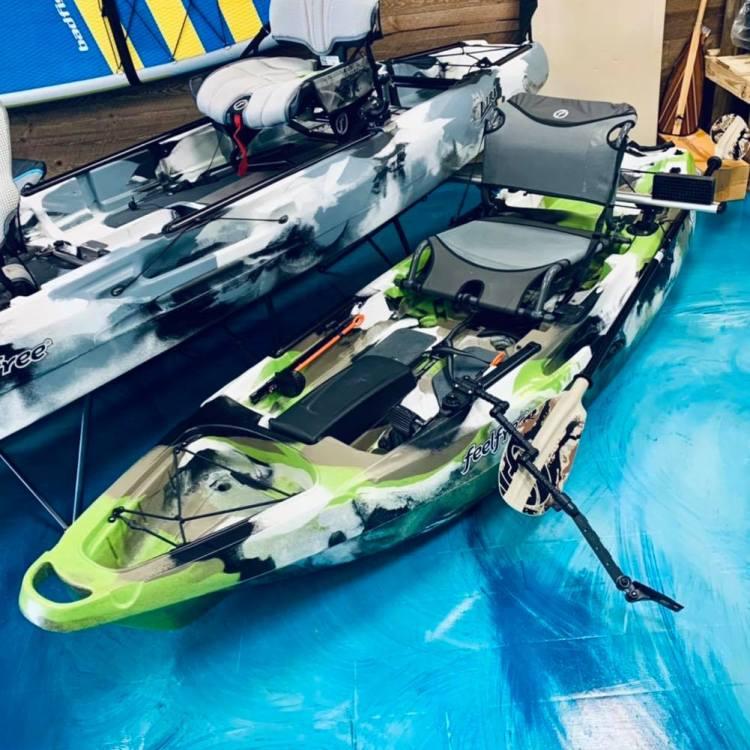 The Yak Shak kayaks