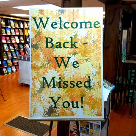 Back and better than ever. Alabama Booksmith.