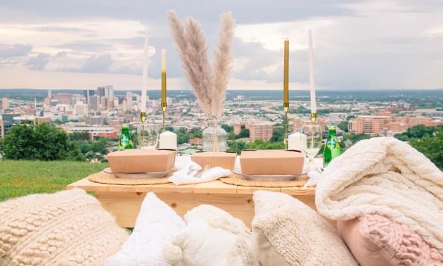 Birmingham luxury pop-up picnic company