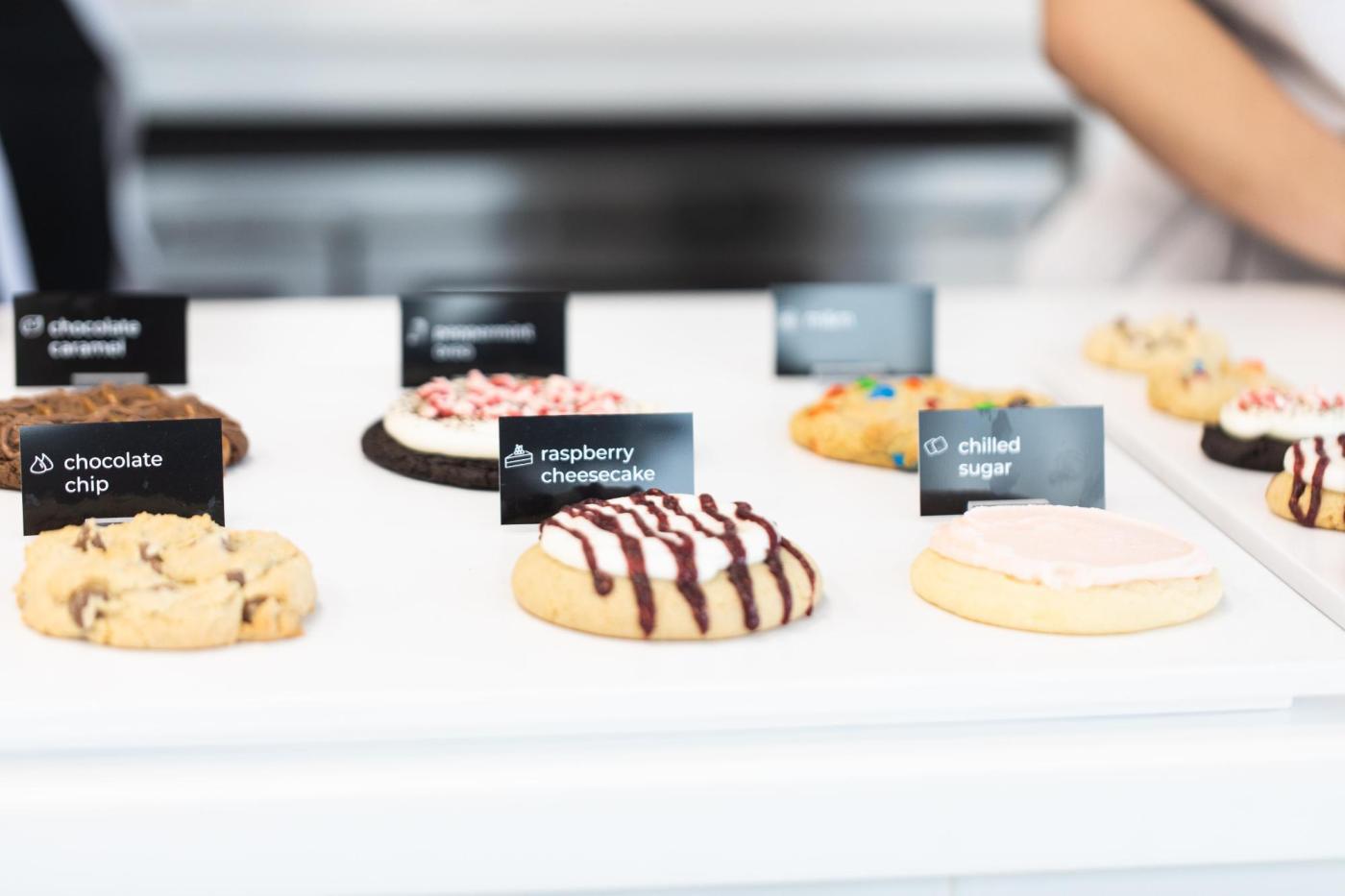 Crumbl Cookies lineup