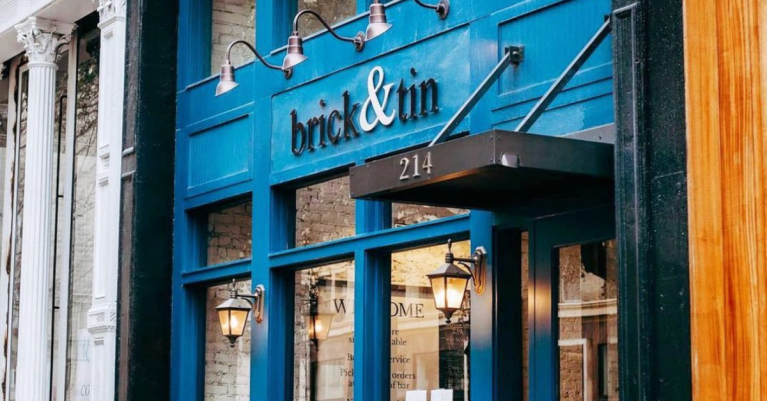 Brick and Tin is back downtown.