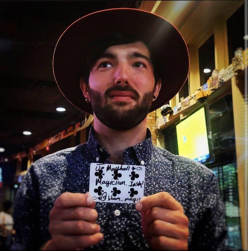 Jo Mayhall, local magician